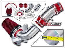 "3.5"" RED Cold Air Intake Induction Kit + Filter For 94-95 Mustang GT 5.0L V8"