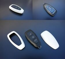 Ford Car Remote Key Cover Case Skin Shell Cap Fob Protection ABS WHITE 2007-