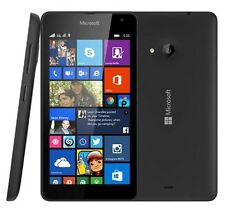 BNIB Nokia Lumia 535 8GB Black 3G Unlocked Windows Wifi GPS Smart Mobile Phone