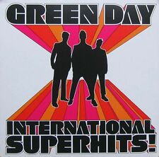 GREEN DAY POSTER, INTERNATIONAL SUPER HITS (SQ8)