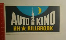 Aufkleber/Sticker: Auto Kino HH Billbrook (01101674)