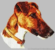 Large Embroidered Zippered Tote - Smooth Fox Terrier DLE1533