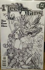 TEEN TITANS #1 Sketch Variant Cover Signed by Michael Turner Star Fire Sketch