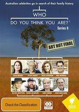 Who Do You Think You Are? - Series 8 NEW R4 DVD
