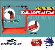 Motorbike Motorcycle Static Wheel Balancer Balancing Tyre Stand Motor Dirt Bike