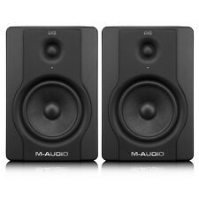 M-Audio BX5 D2 Active Powered Studio Monitor Music Production DJ Speakers PAIR