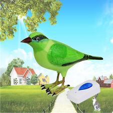 Uccellini Canto Telecomando Senza Fili Ricevitore Suoneria Digitale Campanello