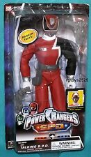 Power Rangers SPD RED 12 Inch Talking Ranger New