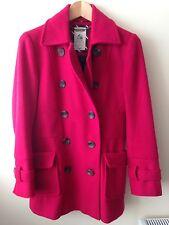 Crew Pink Coat Size 8