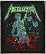 METALLICA - Patch Aufnäher - and justice for all 8x10cm