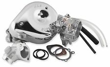 S&S Cycle Shorty Super G Carburetor Kit for 1999-2005 Harley Davidson Twin Cam