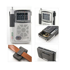KK-818 POCKET RADIO AM/FM/SW 8band PORTABLE TRAVEL RADIO World Wide Band