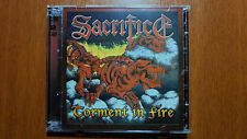 SACRIFICE - TORMENT IN FIRE Marquee version double cd 2013 repress RARE