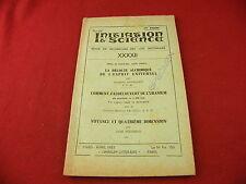 Initiation & Science Recherches des lois inconnues N°XXXXII 1957