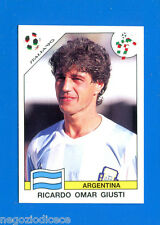 WORLD CUP STORY Panini - Figurina-Sticker n. 218 - GIUSTI -ARG-ITALIA 90-New