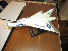 CHUCK YEAGER TEST PILOT SIGNED AUTO CONVAIR XF-92A DELTA WING FIGHTER JET LOA
