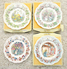Royal Doulton Brambly Hedge 8 pollici piatto quattro stagioni primavera estate autunno inverno