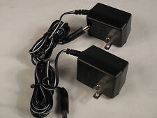 2 pcs Wall Adapter Power Supply Charger 9 Volt DC - 100 MA