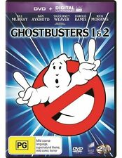 GHOSTBUSTERS & GHOSTBUSTERS II, DVD/DIGITAL UV, NEW & SEALED, Region 4,