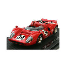 EBRRO Toyota 7 Can-am 68 No. 34 Red 1/43 Scale Diecast Model