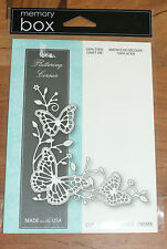 Memory Box Fluttering corner steel craft die MB99094