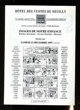 CATALOGUE VENTE BD ENCHERES  AGUTTES 13/12/1997