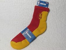 NEW NBA BASKETBALL Logoman Player Crew Socks Mens Large Size RED & GOLD