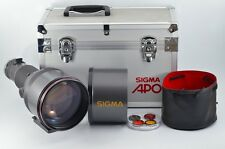 *NEAR MINT* Sigma APO 500mm f/4.5 MF Lens for Canon w/ Trunk from Japan #0161