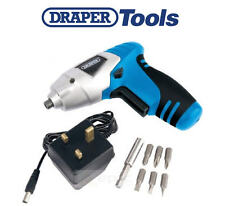 Draper Compact 3.6v Li-Ion Rechargeable Battery Cordless Screwdriver Drill 22386