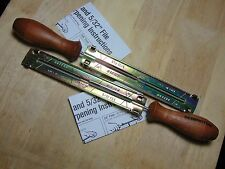 """2 (two) New, OREGON 25894 New 5/32"""" Chainsaw Round Files, Guides"""