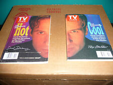 TV Guide - December 21, 1996 two Back Issues that make up david duchovnys face