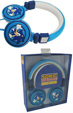 Sega: Sonic The Hedgehog Thumbs Up Logo 3D Headphones - New & Official In Box