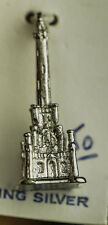 VINTAGE CHICAGO WATER TOWER .925 STERLING SILVER PENDANT/CHARM KENNY