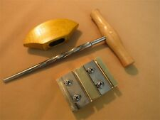 Strong violin tool,VIOLIN PEG HOLE REAMER /PEG SHAVE /pegs assistant handle