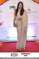 Aishwarya Bollywood Indian Party Wear Saree Pakistani Sari Bridal Wedding Saree