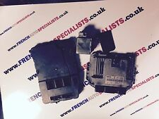 RENAULT SCENIC & MEGANE II 1.9 DCI 130 ECU SET BSI UCH KIT STEERING LOCK KEY