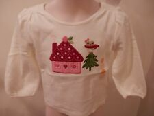 NWT Gymboree Org.$22 Toddler Top with  Adorable Home Scene . 12-18 mth