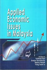 Applied Economic Issues in Malaysia - Fatimah Kari, Evelyn Devadason & Others