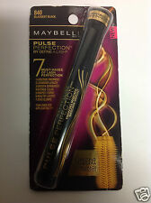 Maybelline Pulse Perfection Vibrating Washable Mascara # 840 BLACKEST BLACK NEW.