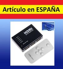 MANDO ADAPTADOR señal HDMI 1a5 cable split television audio video tv desdoblador