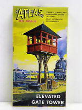 "ATLAS HO U/A ""ELEVATED GATE TOWER"" PLASTIC MODEL KIT #701"