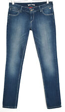 Topshop Skinny KATE MOSS Medium Blue Low Rise Stretch Jeans Size 10 W28 L28