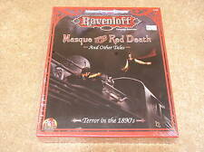 AD&D Ravenloft Masque of the Red Death and Other Tales boxed set - sealed