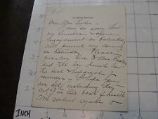 Vintage Letter/NOTE: to Mrs TAYLOR from 247 fifth avenue NY - about OPERA early
