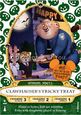 Disney 2016 MNSSHP Halloween Party Sorcerers of Magic Kingdom Card CLAWHAUSER