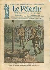John Joseph Pershing Le Chêne Jardin du Trocadero Paris France 1921 ILLUSTRATION