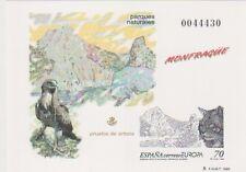 ESPAÑA 1999. PRUEBA ARTISTA. OFICIAL 69. Europa. Reservas y parques naturales
