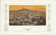 1910ca MOUNT OF OLIVES View autotype ירושלים Gerusalemme القُدس Monte ulivi