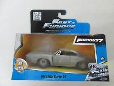 Jada Toys Fast & Furious Furious 7 Dom's Dodge Charger R/T Gray 1/32