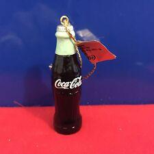 Coca Cola Miniature Ornament Coke Bottle 1998
